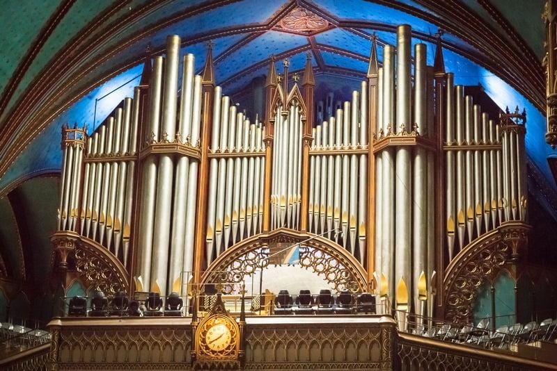 Organ pipa Notre-Dame