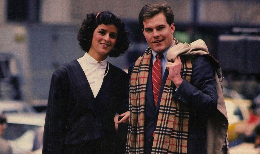 sepasang yuppie amerika tahun 1980an