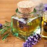 bunga lavender dan lavender essential oil