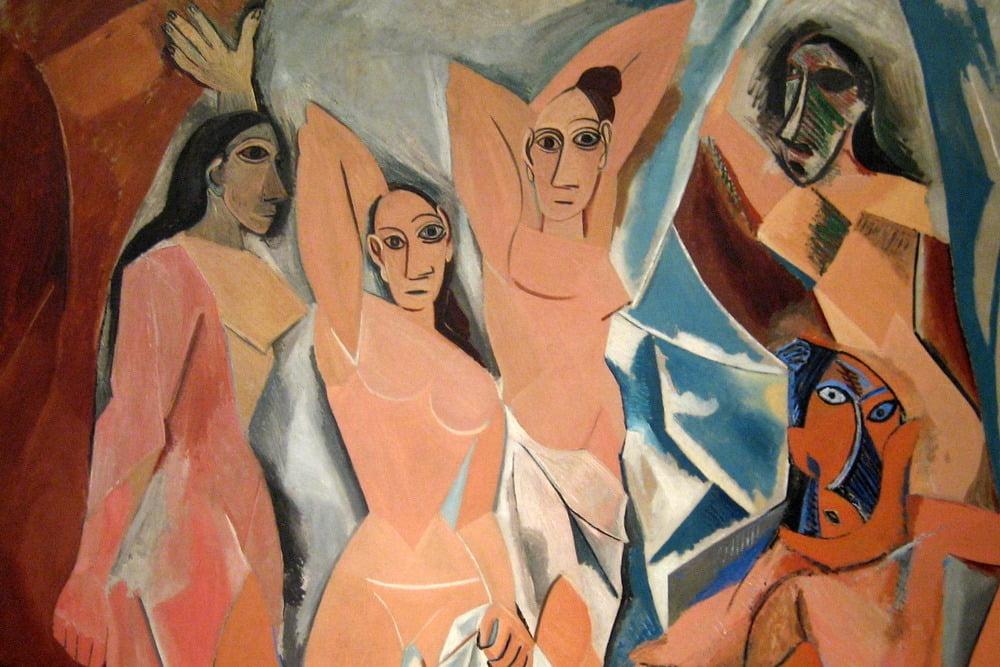 """Pablo Picasso, """"Les Demoiselles d'Avignon,"""" 1907"""