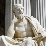patung marmer herodotus