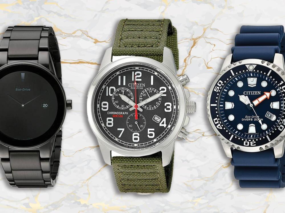 tiga model jam tangan citizen