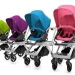 deretan stroller dari berbagai jenis dan warna