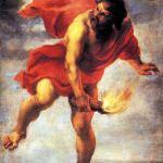 Prometheus Membawa Api - Jan Cossier (1600-1671)