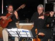 With Stefan , Garden Bay Pub