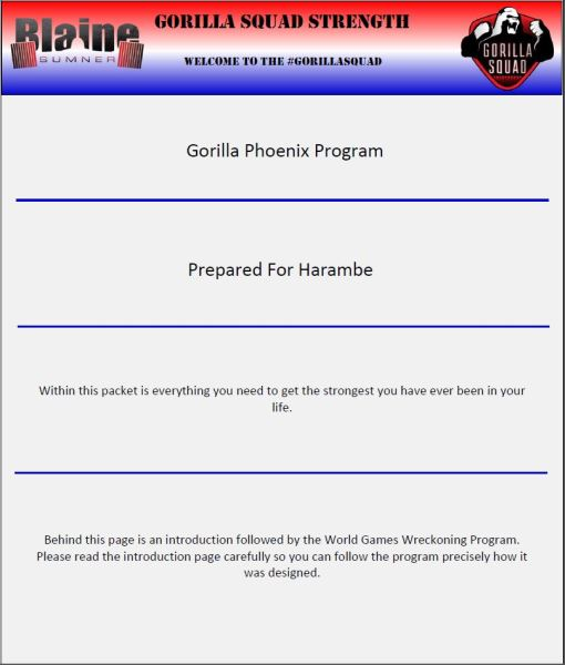 The Gorilla Phoenix Program 2