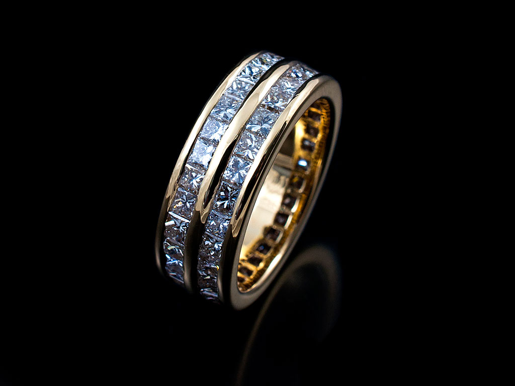 Eternity Rings Hand Made In Glasgows West End