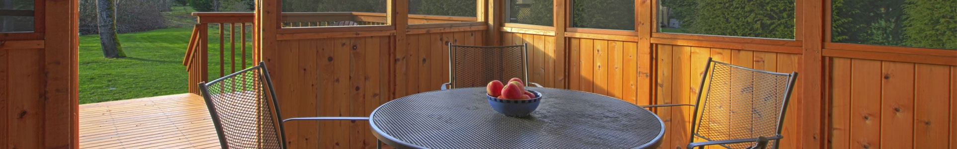 screened porch benefits