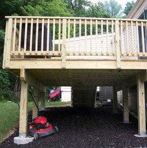 Deck After remodel