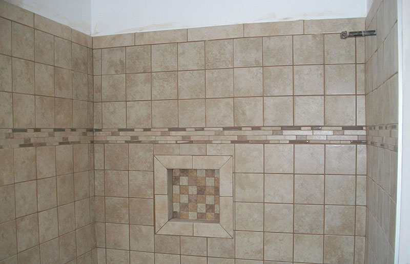 New Bath Tile renovation