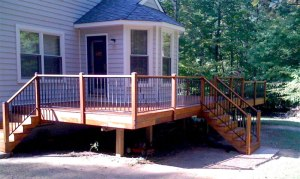 New Deck - After remodel
