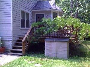 Deck remodel - Before