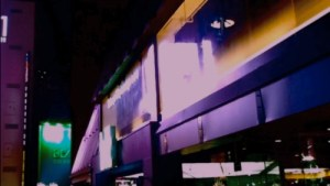 Screenshot of video artwork by Blair Thomson 'Jouney to Nowhere' 2012