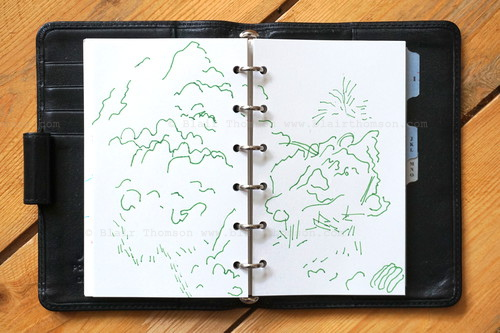 line drawing sketchbook 4 (www.blairthomson.com) copyright