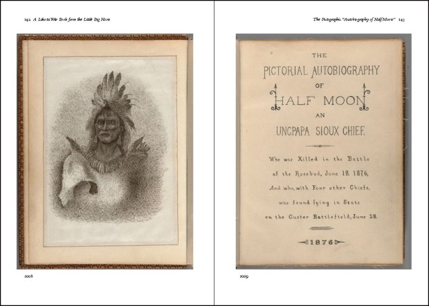 Lakota War Book text spread 1