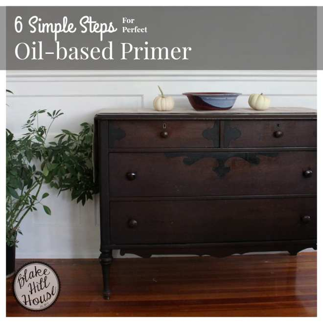 6 Simple Steps for perfect Oil-Based Primer