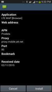 10_install config LTE WAP