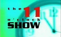 Logo for the C4 show the 11 'Clock Show
