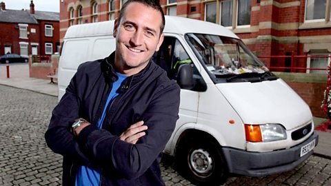 Image of Will Mellor from the sitcom White Van Man