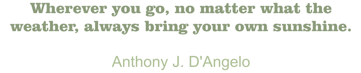 Blanchard Quote Anthony J. D'Angelo