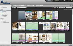 Virtual Publisher Layout View