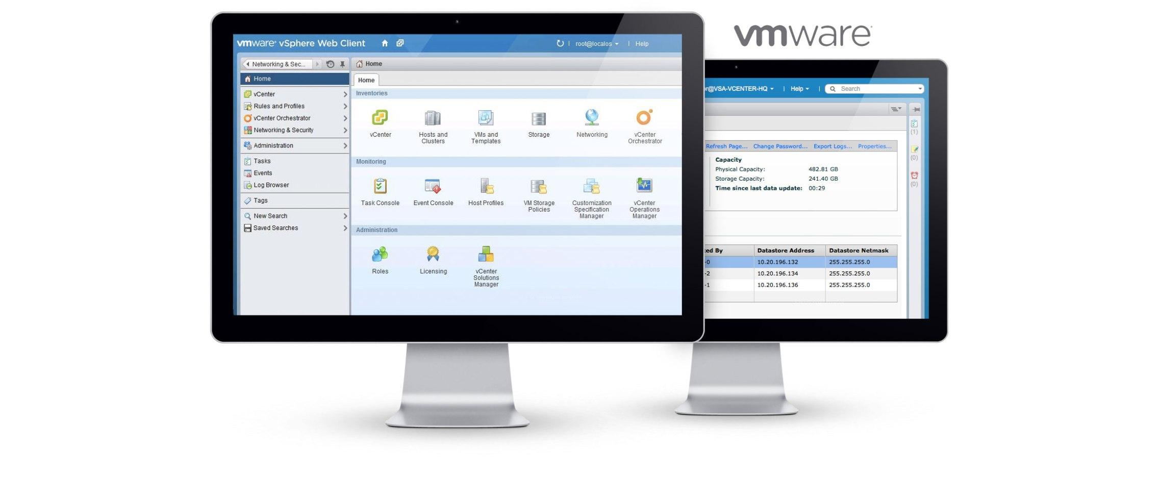 Infrastructure Solutions - VMware vCenter Server & VMware
