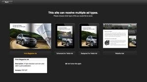 Send Ad Through Digital Ad Portal