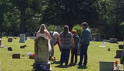 Yesterday, Today, and Tomorrow at Our Family Cemetery