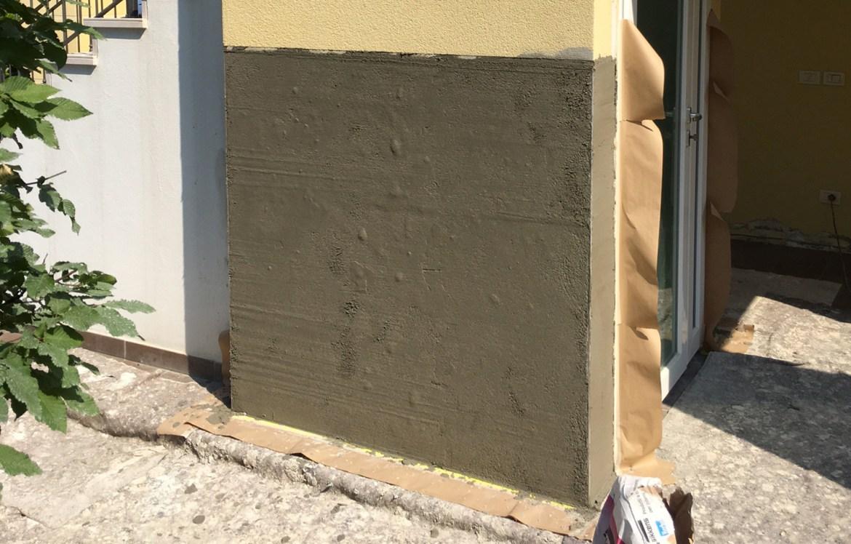 rasante casa ristrutturazione parete esterno
