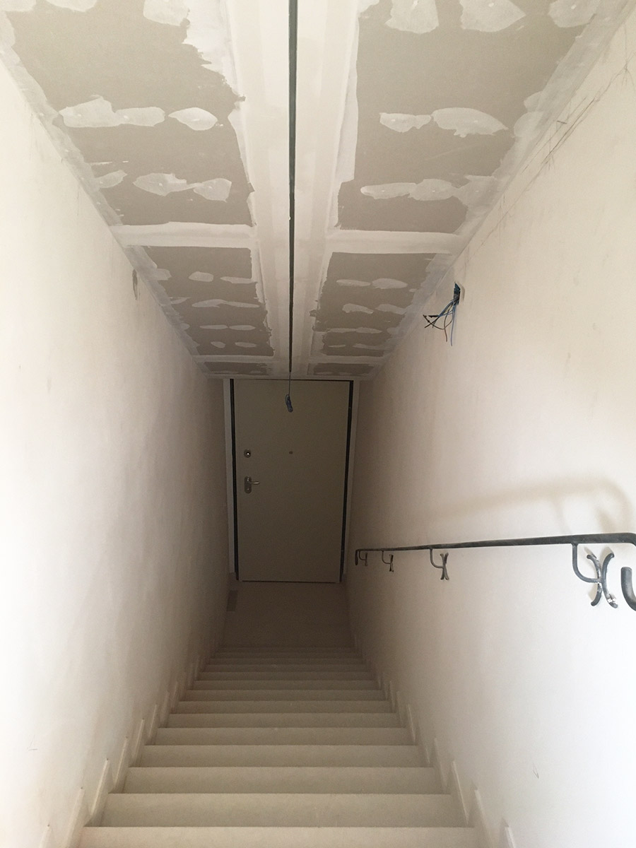 ristrutturazione casa soffitto cartongesso