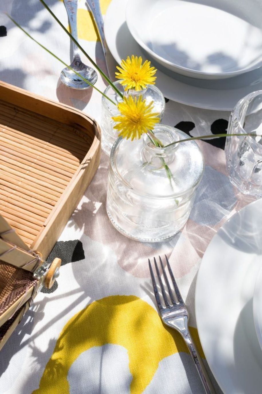 Cómo poner una mesa de verano bonita