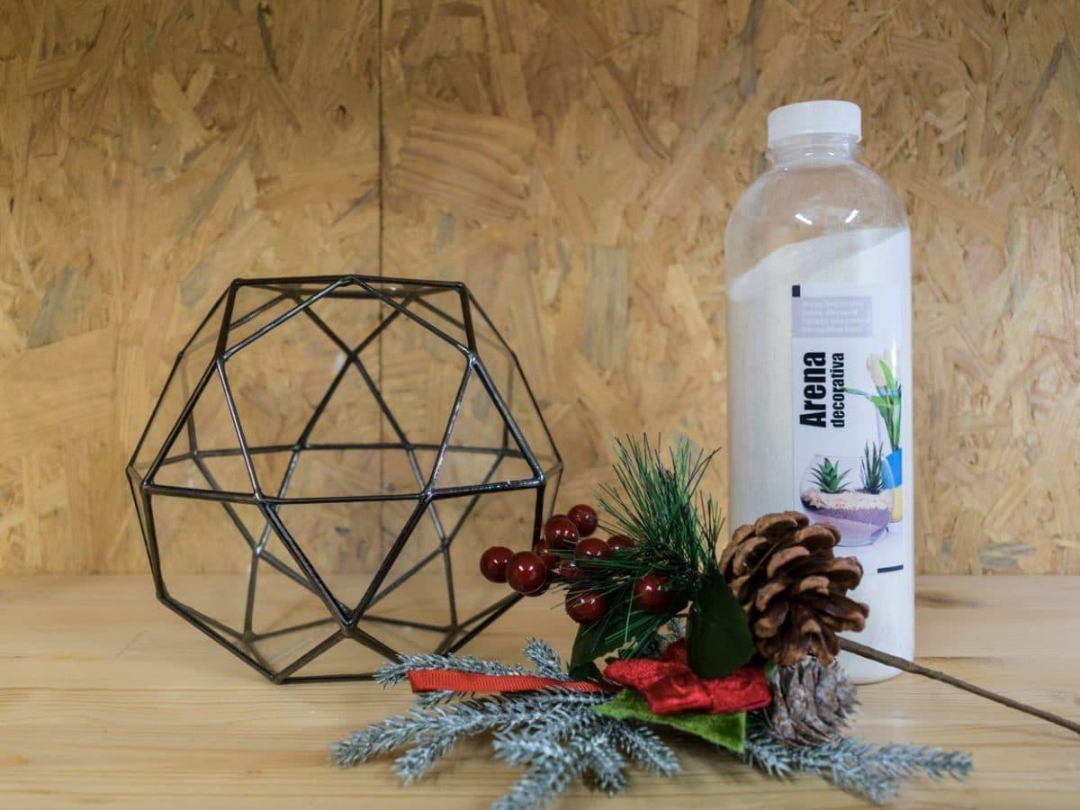 Materiales para decorar con un terrario