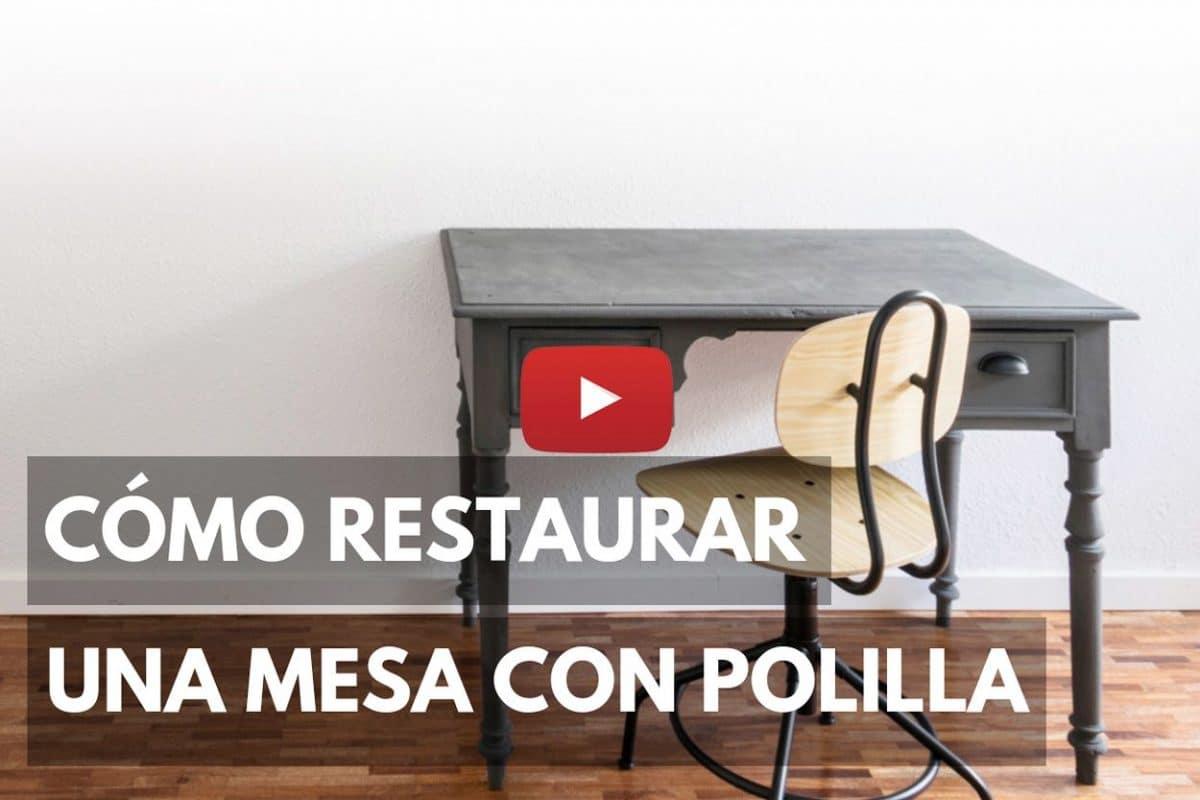 Cómo restaurar una mesa con polilla o carcoma
