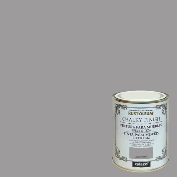 Rust Oleum Chalky finish - gris invernal