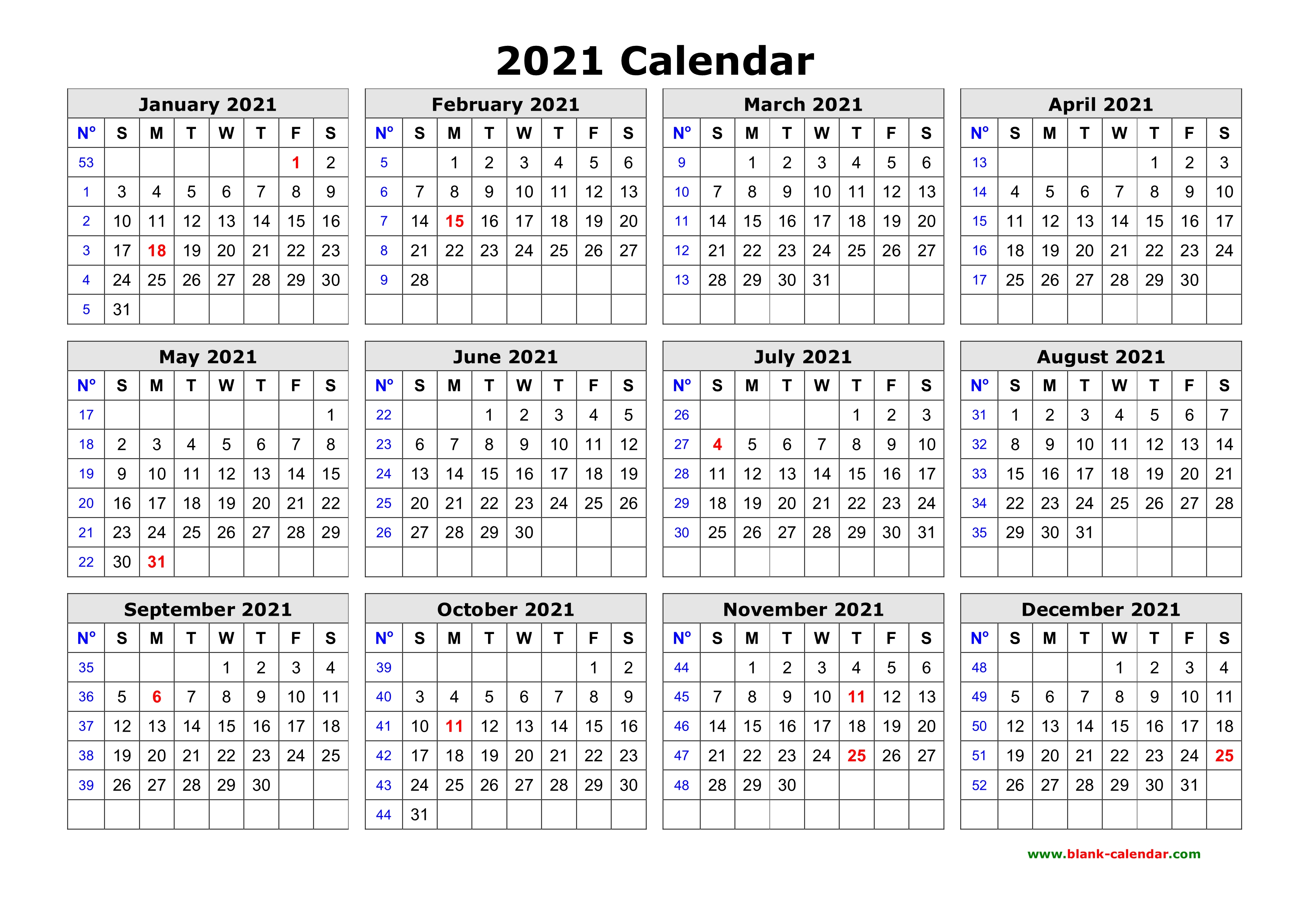 Browse our selection that includes wall calendars, desktop calendars and even wall stickers. Free Download Printable Calendar 2021 in one page, clean ...