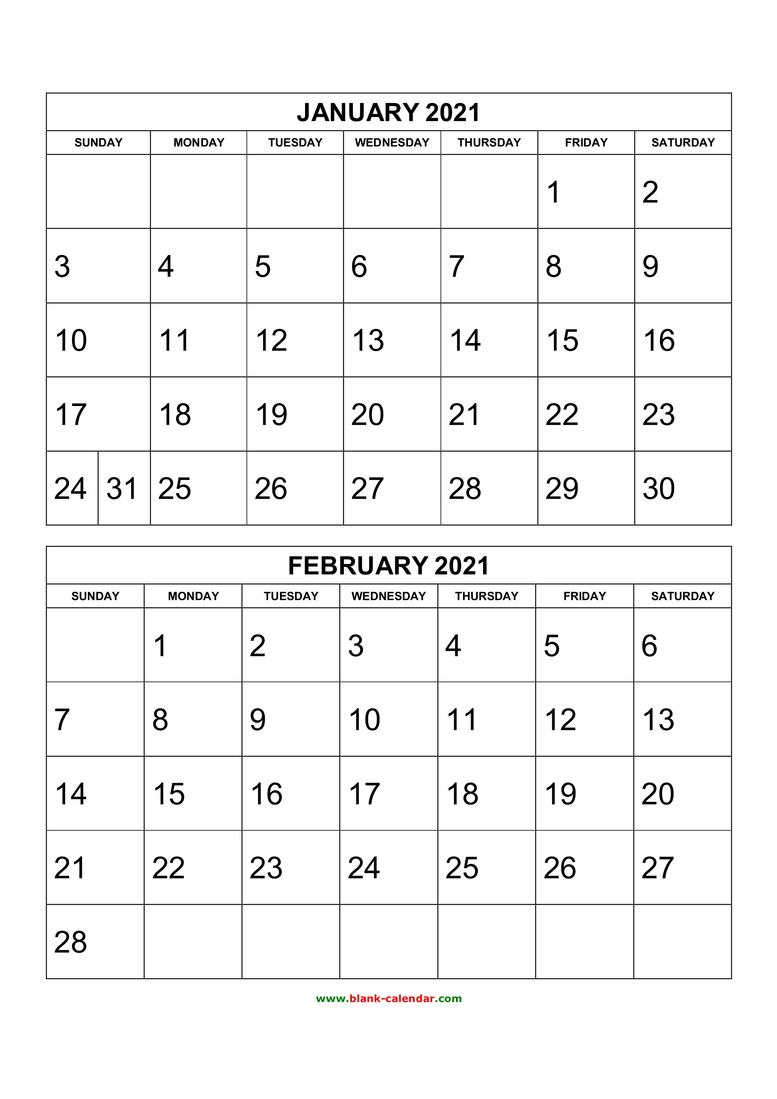 By sally wiener grotta 25 march 2021 we tested the best photo calendars services so that you can pick the righ. Free Download Printable Calendar 2021, 2 months per page ...