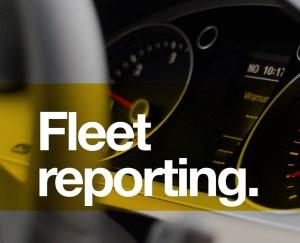 Fleet reporting software management