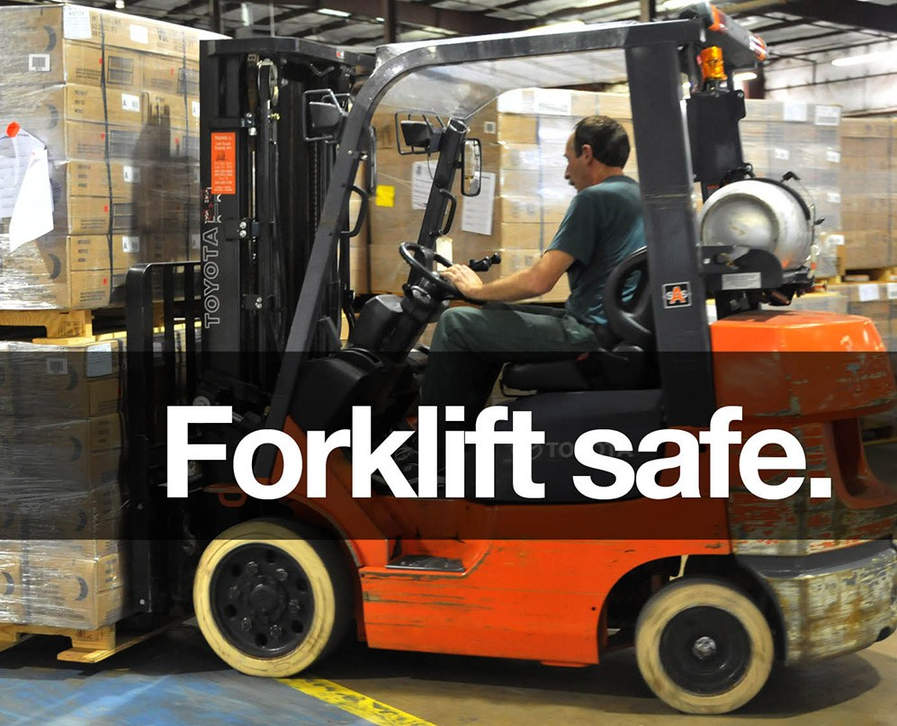 Forklift safety computer