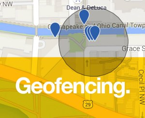 Geo-fencing software