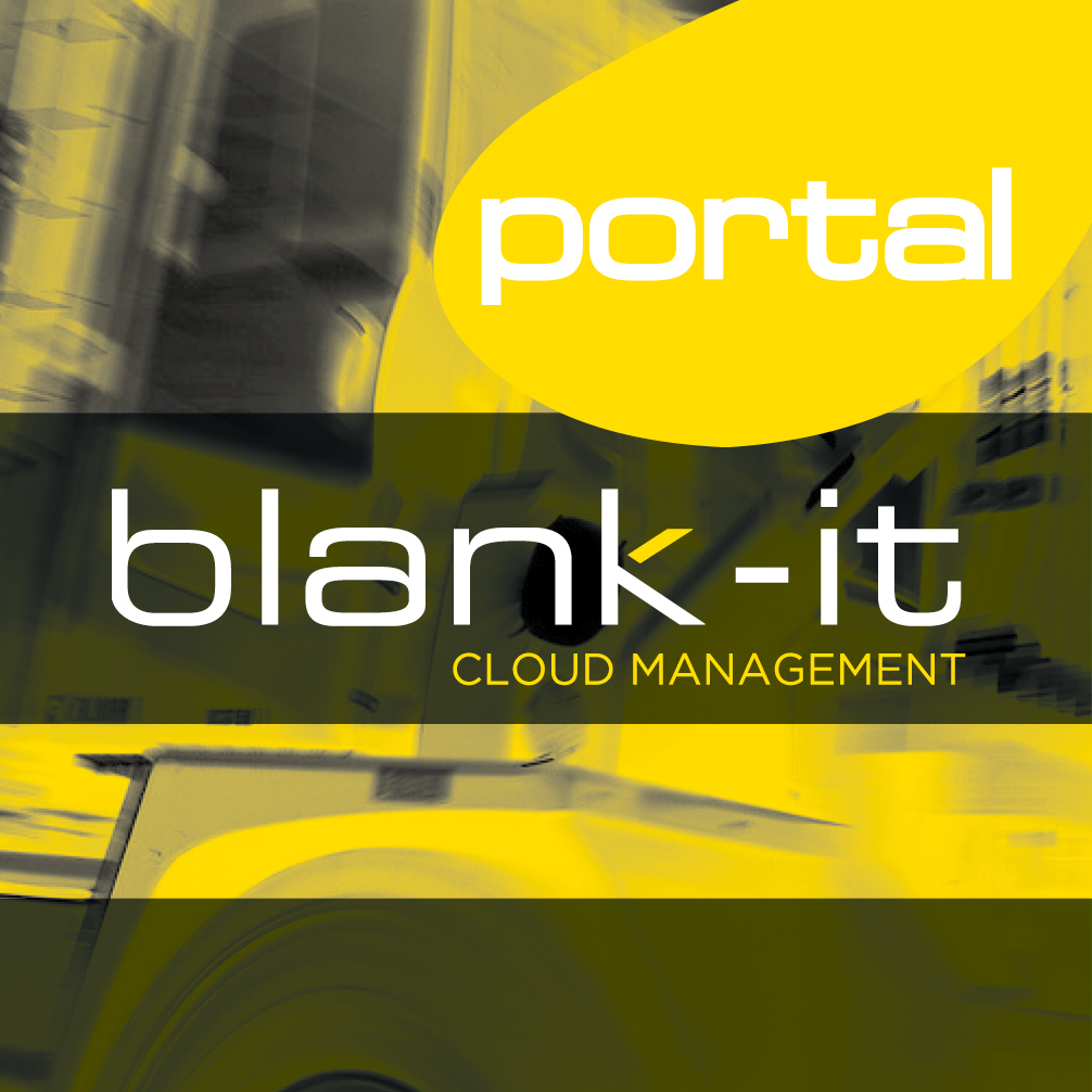 Blank-it Portal Cloud Management