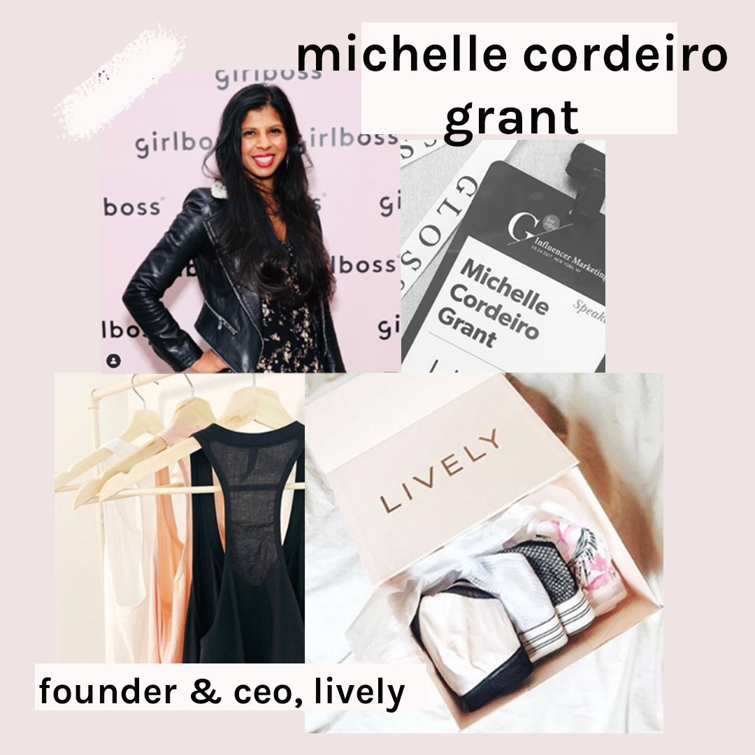 michelle cordeiro grant - lively founder - blankbox female founder feature