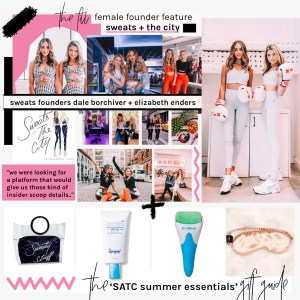 sweats and the city - female founder feature the fill