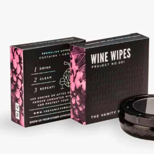 vanity project wine wipes - blankbox gift guide the fill