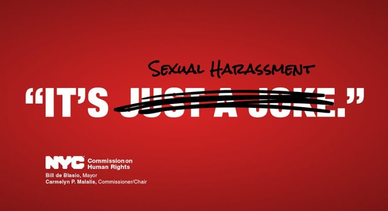 Sexual harassment is not a joke