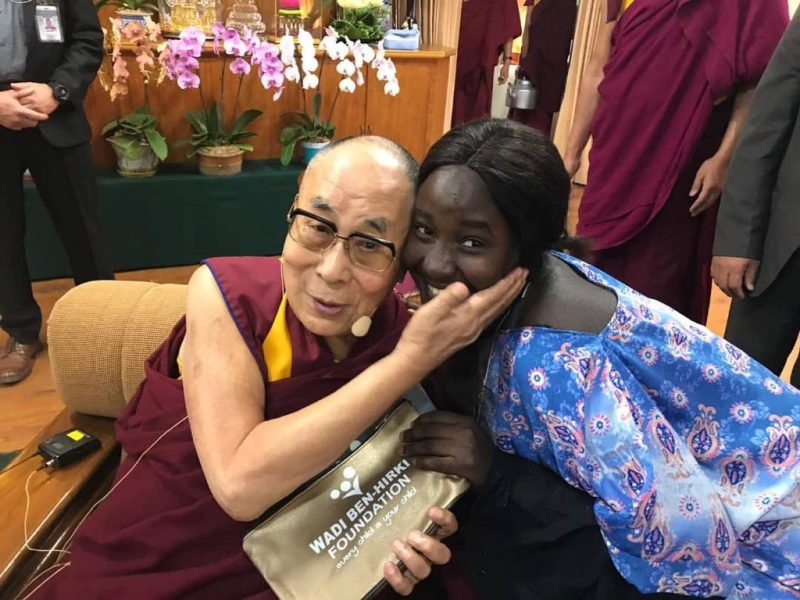 Wadi Ben-Hirki with the Dalai Lama