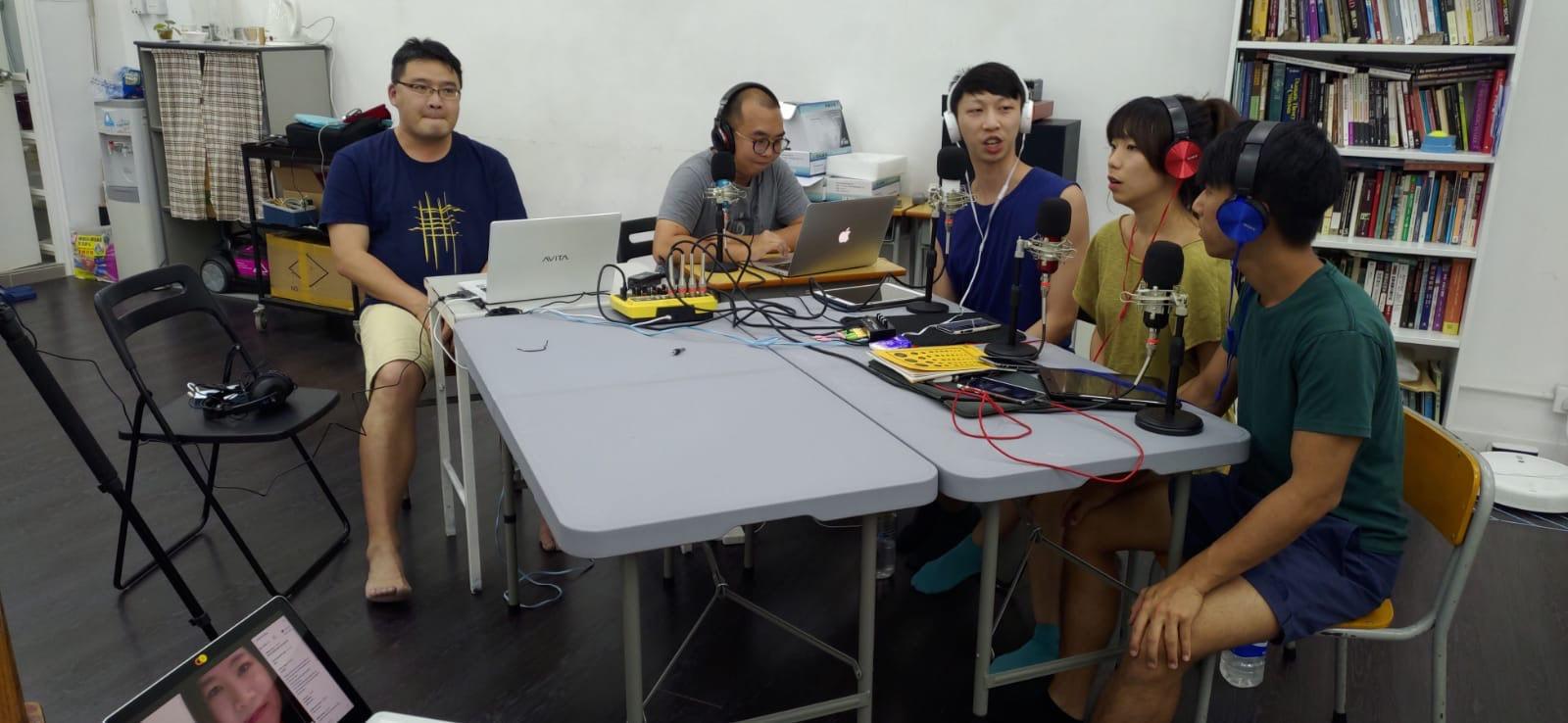《香港人.藝術.在彼邦.於當下》 線上交流會 - 流白之間 BLANK SPACE STUDIO