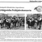 Frühjahrskonzert 2006 -Bericht- (Gemeindeblatt, 05/2006)