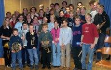 Die Jugend der Blaskapelle Höhenkirchen-Siegertsbrunn