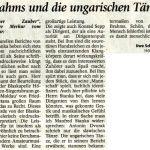 Neujahrskonzert 2009 (Leserbrief, Münchner Merkur, 24.1.2009)