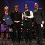 Festakt zur Verleihung des Bayerischen Musikpreises an die Blaskapelle